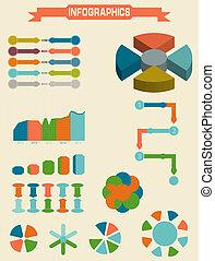 Infographic Element Set. Vector illustration