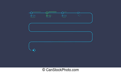 Infographic Element - Timeline - Timeline Animation is an...