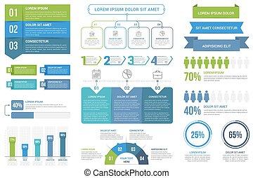 infographic, elementi