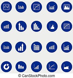 Infographic elements. Pie chart. Items for business, statistics and reports