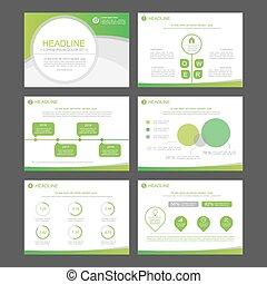 infographic, elementy, templates., prezentacja