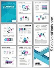 infographic, ensemble, créatif