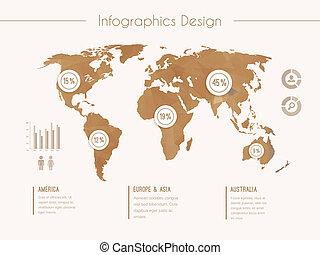 style vendange infographic hipster gabarit girl clip art vectoriel rechercher des dessins. Black Bedroom Furniture Sets. Home Design Ideas