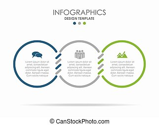 infographic, gabarit, ton, illustration., data., conception, endroit, vecteur