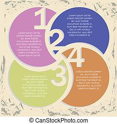 infographic, getallen