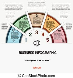 infographic, handlowy