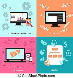 Infographic icon set