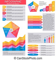 infographic, icons.