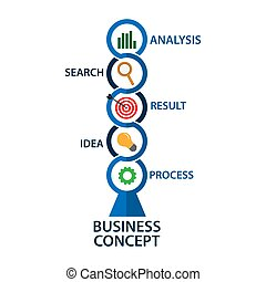 infographic, illustration., negócio, vetorial, desenho, template., estoque