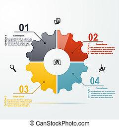 infographic, jogo