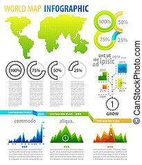 infographic, komplet