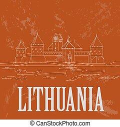 infographic, lituania