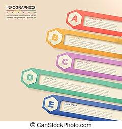 infographic, ontwerp, tijdgenoot