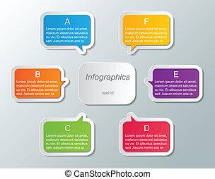 infographic, plantilla