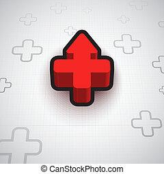 Infographic Plus Symbol