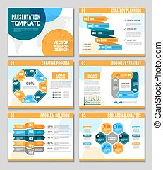 Infographic Presentation Set