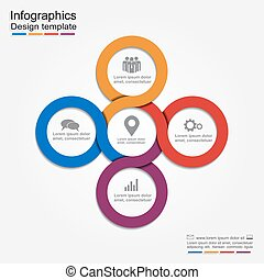 Infographic report template.