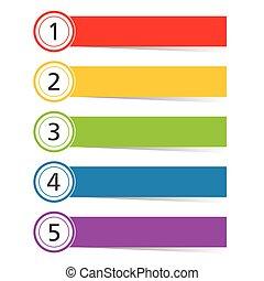 infographic set in color illustration