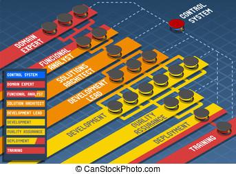 Infographic Software Development Scrum Methodology