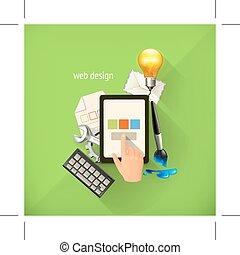 Infographic technology illustration