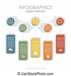 Infographic template. Can be used for workflow layout,...