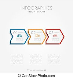 Infographic template. Can be used for workflow layout, ...