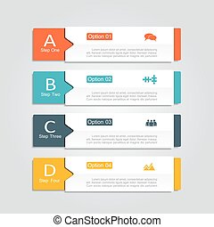 infographic, template., desenho