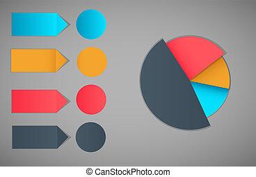Infographic template design vector illustration
