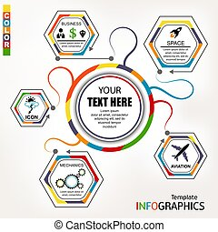 Infographic template. elements