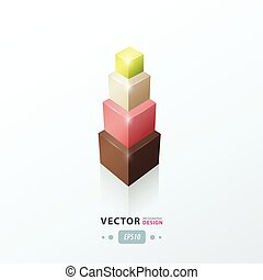 infographic template status tower