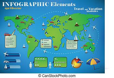 Infographic Travel Elements
