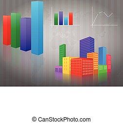 infographic, város