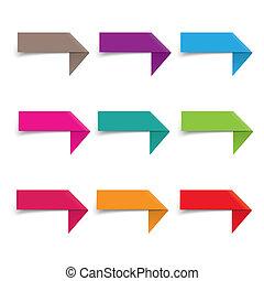 infographic, vastbinden, communie, papieren