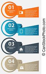 infographic, vecteur, business, gabarit, illustration