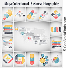 infographic, vecteur, business, gabarit, illustration