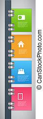 infographic, vecteur, conception, gabarit, illustration
