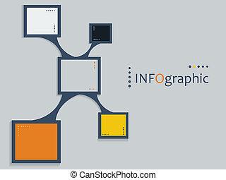 infographic, vector, communie