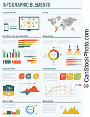 infographic, vektor, illustration.