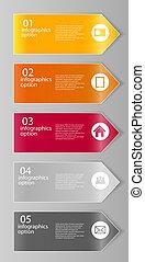 infographic, vetorial, negócio, modelo, ilustração