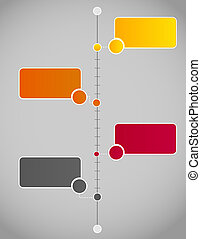 infographic, vettore, affari, sagoma, illustrazione