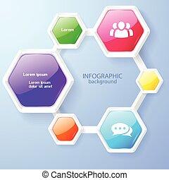 Infographic Web Design Concept