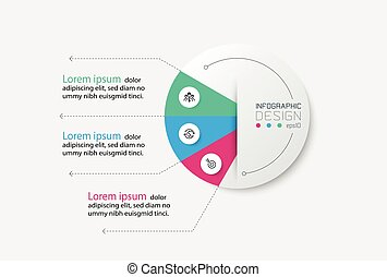 infographic_922 - Diagram circle design systematic display ...