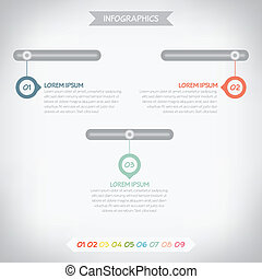 infographics, デザイン, ベクトル, eps10, ビジネス