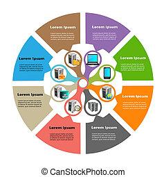 infographics, 技術