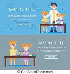 infographics, 概念, 教育, アイコン