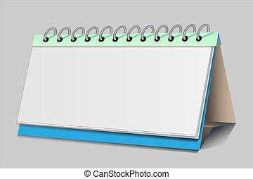 infographics, a, calendário, para, apresentação, em, a, pointpoint, conceito