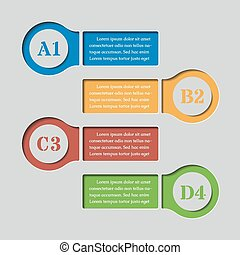 infographics banners templates