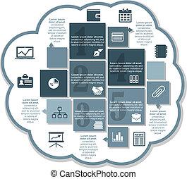 Infographics business design
