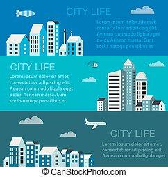 infographics, cidade
