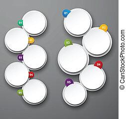 Infographics design. - Vector illustration of infographics...